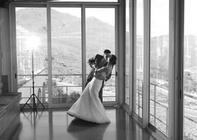 La Vierge Wedding Black and White
